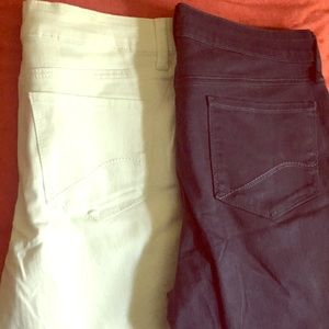 NYDJ Brand New - White and Blue - Size 10